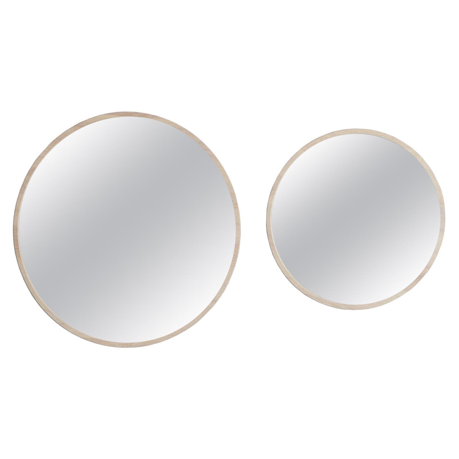 Amelie ash wood frame Mirrors set