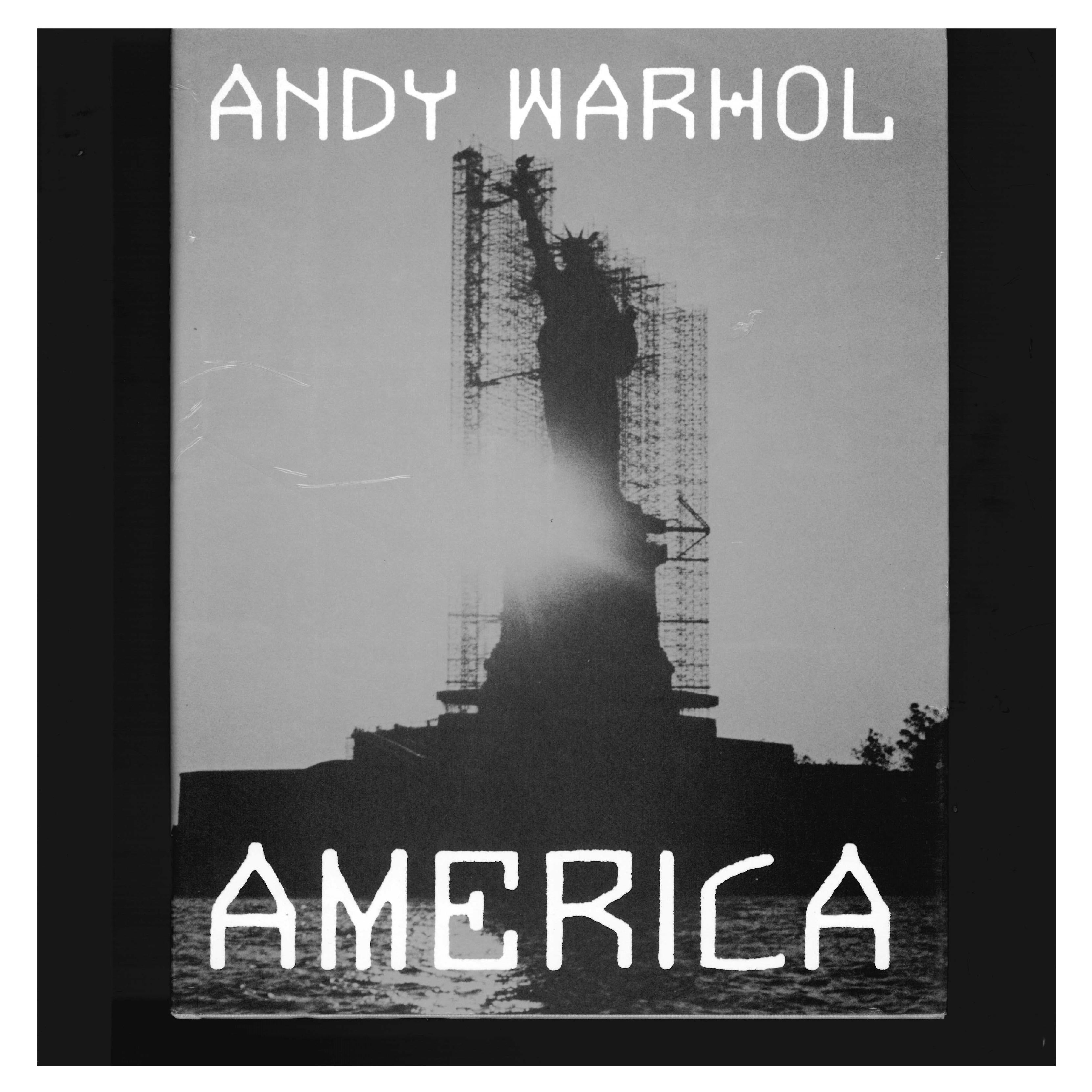 AMERICA by ANDY WARHOL 'book'