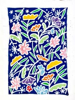 When Stars Look Like Flowers_America Martin w. Jada+Jon_Acrylic/Hand-Stitching