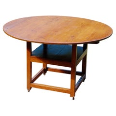 American 19th Century Country Chair Table Metamorphic