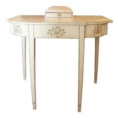American 19th Century Federal Period Painted Dressing Table
