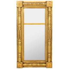 American 19th Century Gilt Mirror