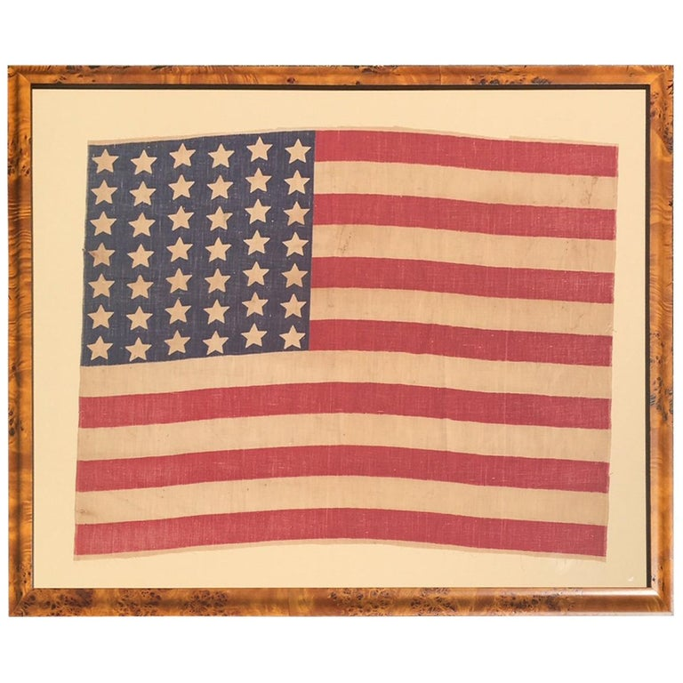 American 42 Star Flag, circa 1890 For Sale