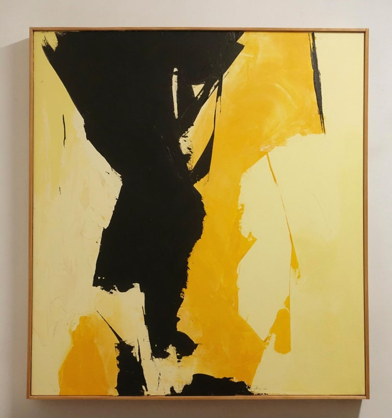 Mid-Century Modern American Abstract Expressionist Painting For Sale