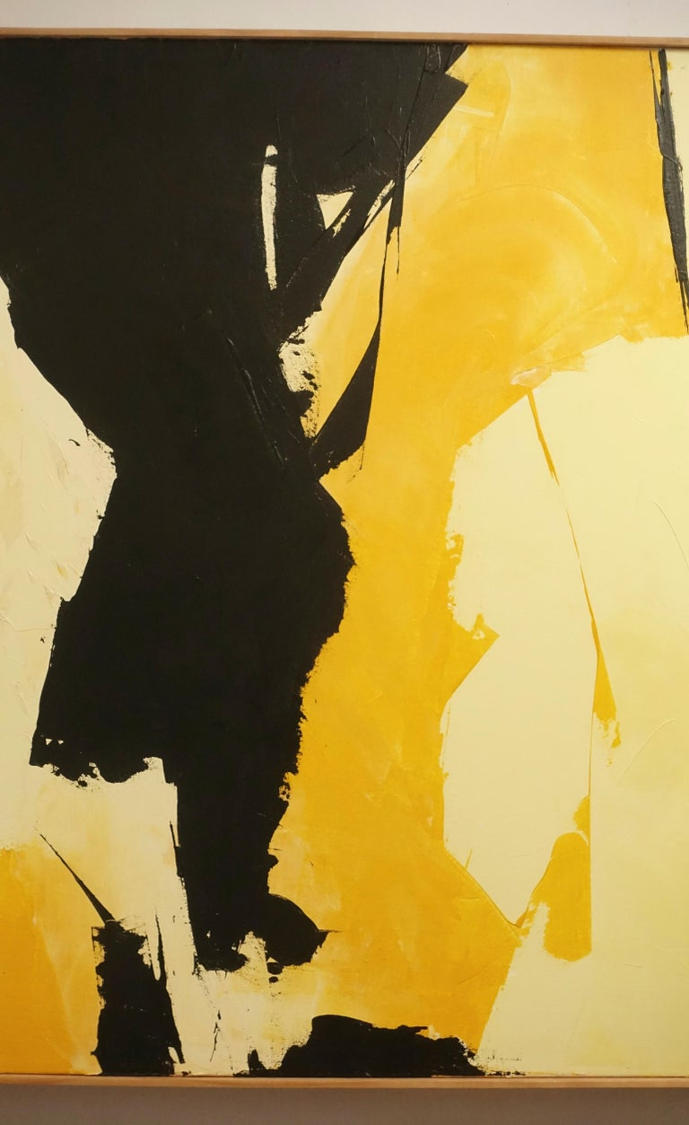 American Abstract Expressionist Painting In Excellent Condition For Sale In San Francisco, CA