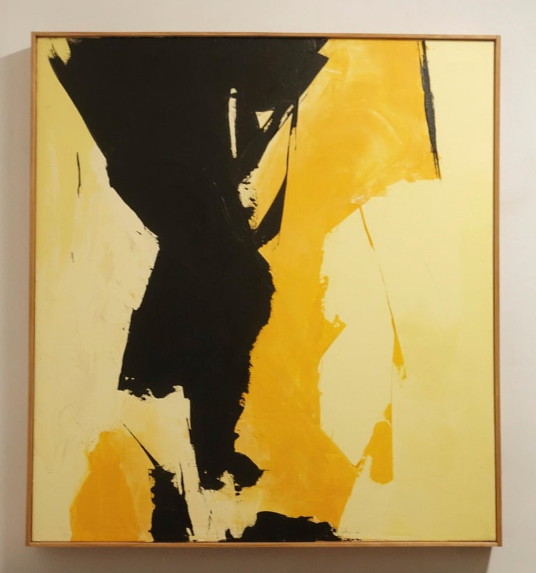 Late 20th Century American Abstract Expressionist Painting For Sale
