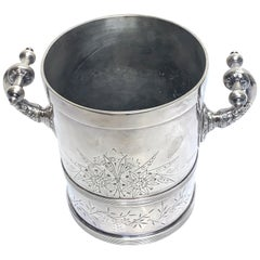 American Aesthetic Silver Plated Champagne/Ice Bucket, by Meriden Silver Co.