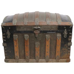 American Antique Dome Top Trunk