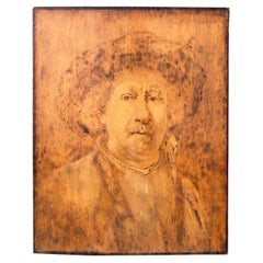 American Antique Painting After Rembrandt by Norman Kingsley, 1899