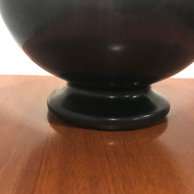 American Art Deco 1930 Art Pottery Table Lamp For Sale 1