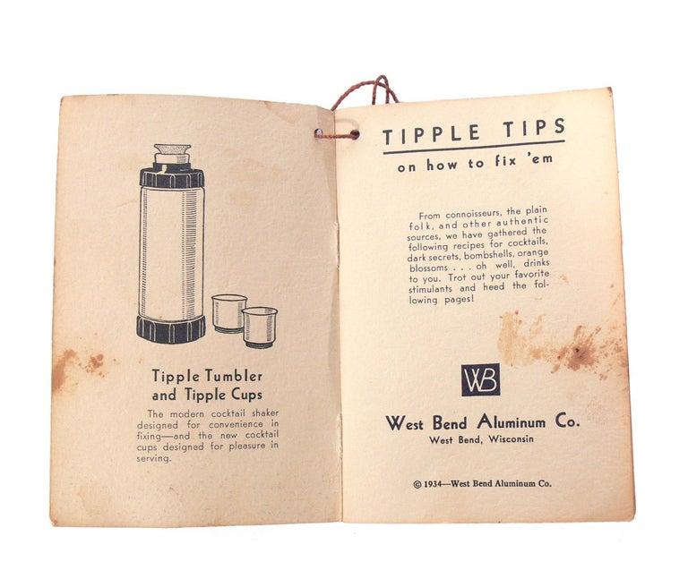 American Art Deco Cocktail Shaker with Original Ephemera For Sale 1