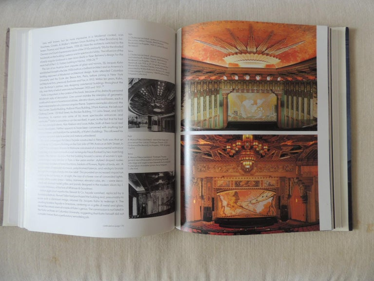 American Art Deco hardcover coffee table book by A. Duncan Explores the tradition of the streamlined design and reveals how it was manifested in the great buildings, furniture, and merchandise of the 1930s. This book covers much ground, albeit in a