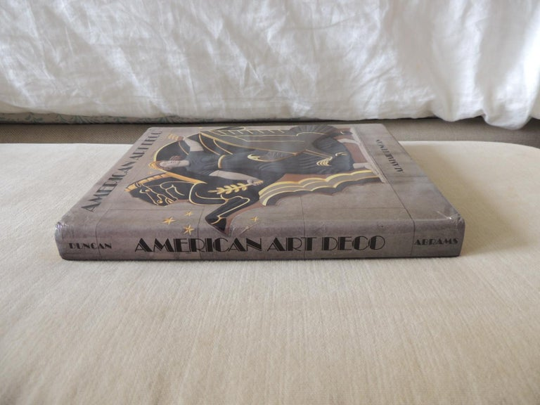 Late 20th Century American Art Deco Hardcover Coffee Table Book by A. Duncan For Sale
