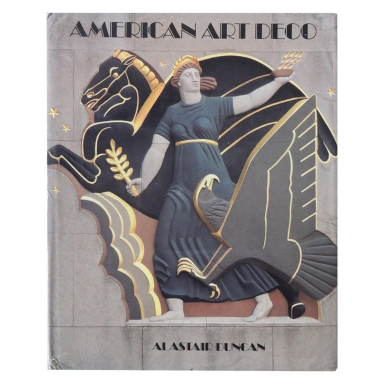 American Art Deco Hardcover Coffee Table Book by A. Duncan For Sale
