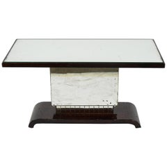 American Art Deco Side Table or Small Coffee Table