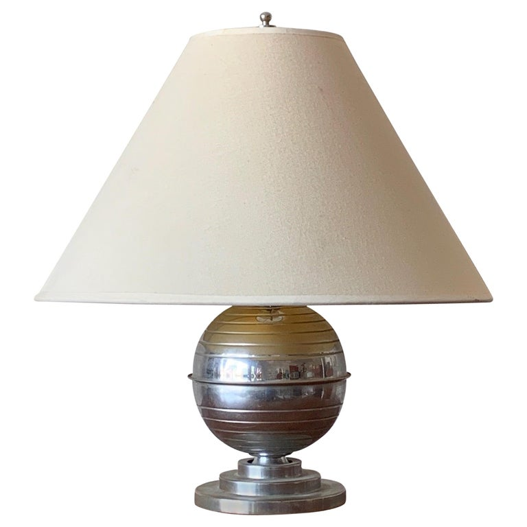 American Art Deco Table Lamp For Sale