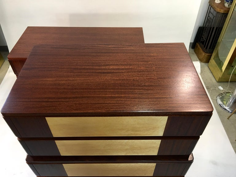 American Art Deco Tall Chest of Drawers by R-Way For Sale 7