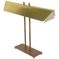 American Art Moderne Brass Desk Lamp Attributed to Paul McCobb