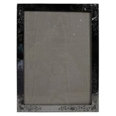American Art Nouveau Sterling Silver Picture Frame
