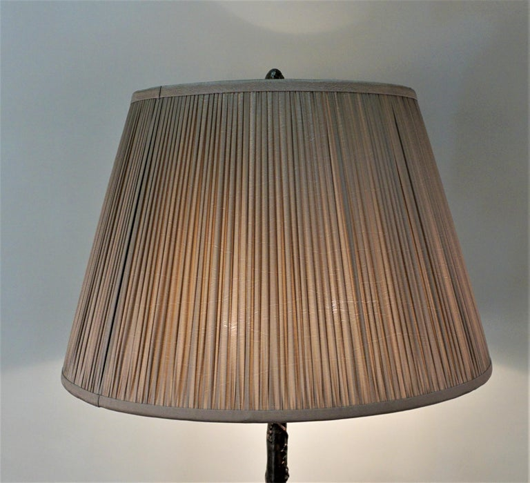 American Arts & Crafts Copper Floor Lamp For Sale 2