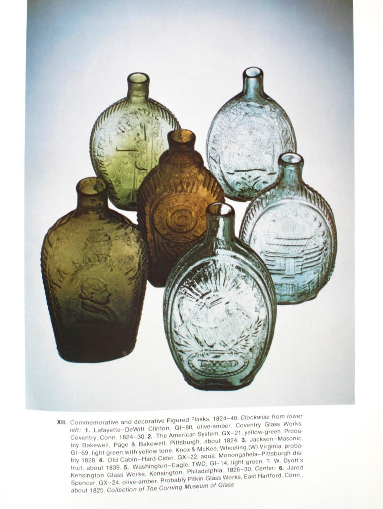 American Bottles & Flasks and Their Ancestry, 1st Edition In Good Condition For Sale In Kinderhook, NY