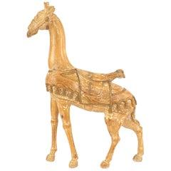 American Carousel Style '20th Century' Large Giraffe Figure
