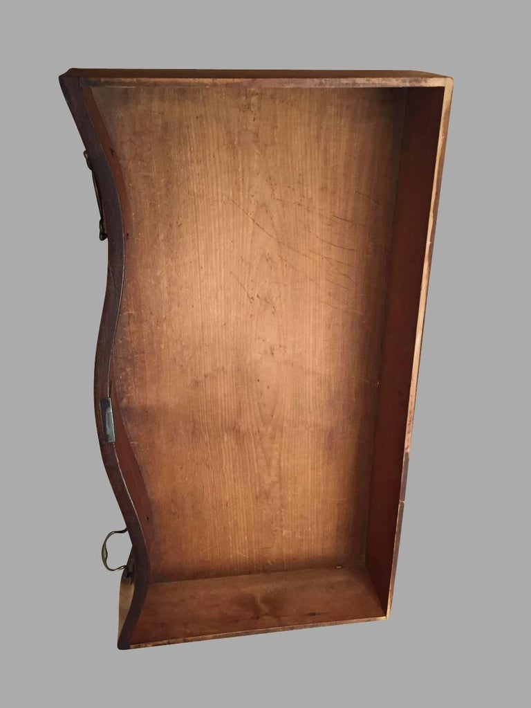 American Chippendale Period Mahogany Serpentine Four-Drawer Chest For Sale 9