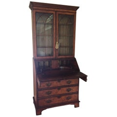 American Classical Bristol House at Beacon Hill Secretary Desk and Cabinet