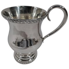 American Classical Coin Silver Baby Cup by Libby of Boston
