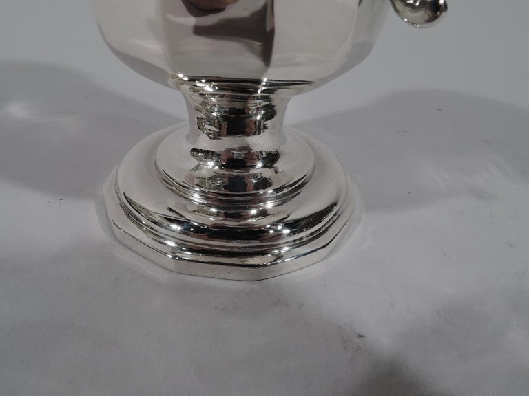 19th Century American Classical Coin Silver Baby Cup by New York Maker For Sale