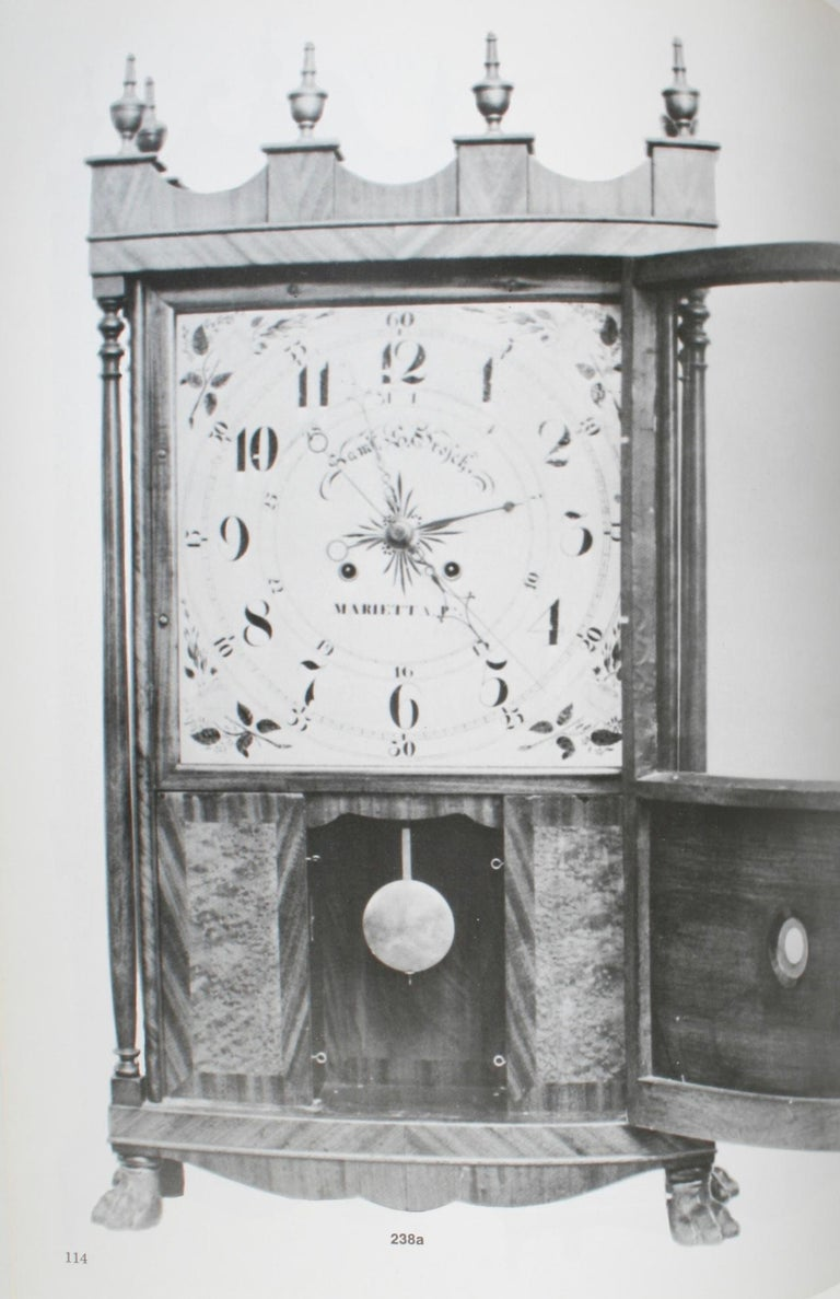 American Clock, a Comprehensive Pictorial Survey, First Edition For Sale 9