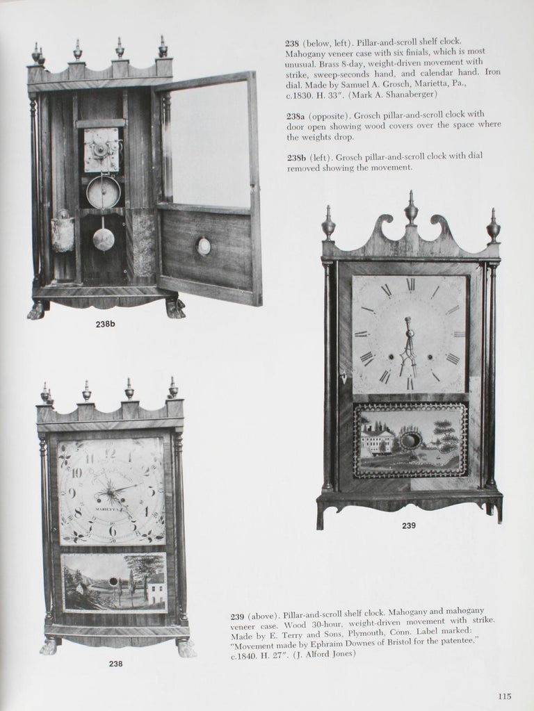 American Clock, a Comprehensive Pictorial Survey, First Edition For Sale 10