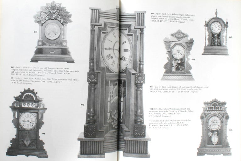 American Clock, a Comprehensive Pictorial Survey, First Edition For Sale 12