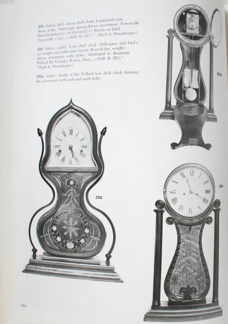 American Clock, a Comprehensive Pictorial Survey, First Edition For Sale 2