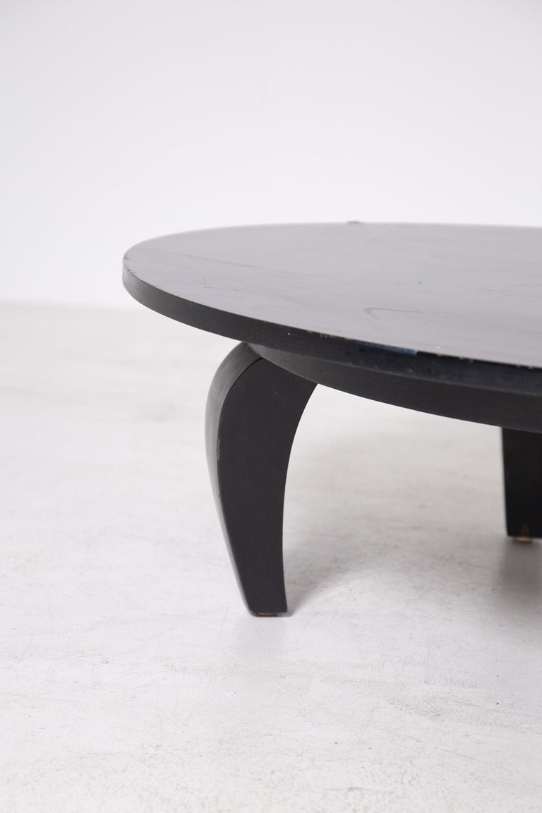 Elegant American-made coffee table from the 1950s. 