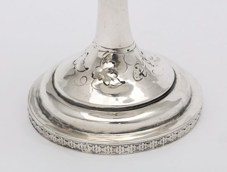 American Coin Silver '.900' Goblet by Peter L. Krider For Sale 5
