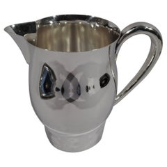 American Colonial Revival Sterling Silver Water Pitcher by International