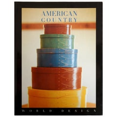 American Country World Design Series, First Edition