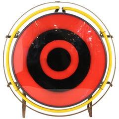 American Countryman Inc. Mid-Century Modern Bullseye Light Fixture