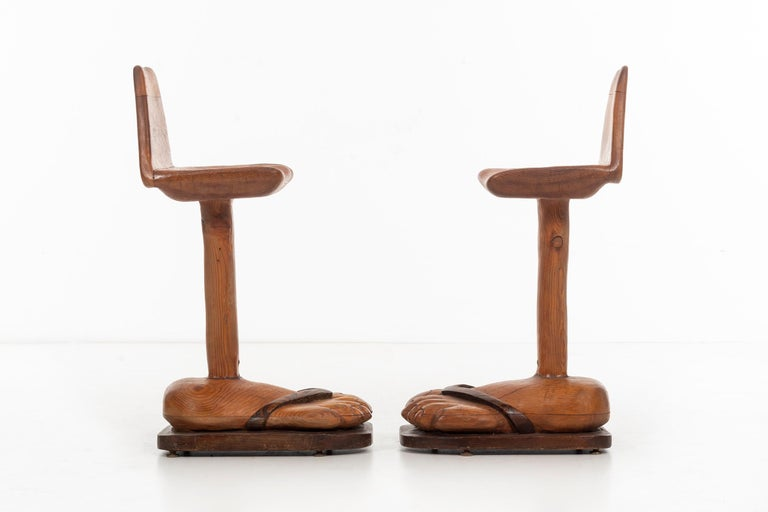 American Craft Foot 'BAR' Stools In Good Condition For Sale In Chicago, IL