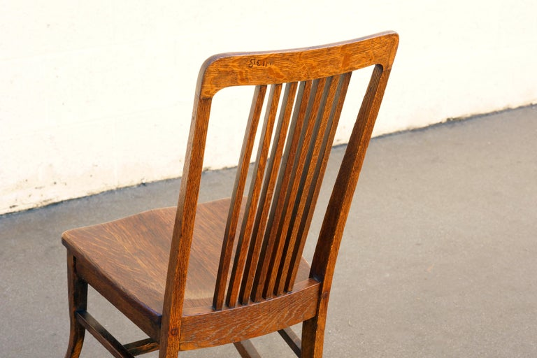 American Craftsman Child's Rocking Chair with Slat Back 1