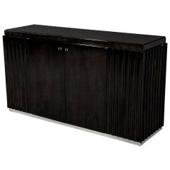 American Designer Fluted Console Buffet Sideboard