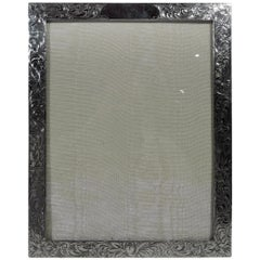 American Edwardian Sterling Silver Picture Frame
