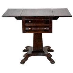 American Empire Drop-Leaf Table
