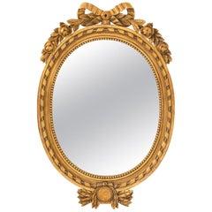 American Empire Gilded Mirror, circa 1890