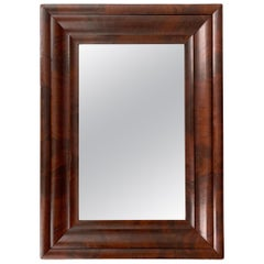 American Empire Mahogany Framed Mirror