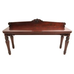 American Empire Mahogany Sideboard/Server from J.D. Rockefeller's Residence