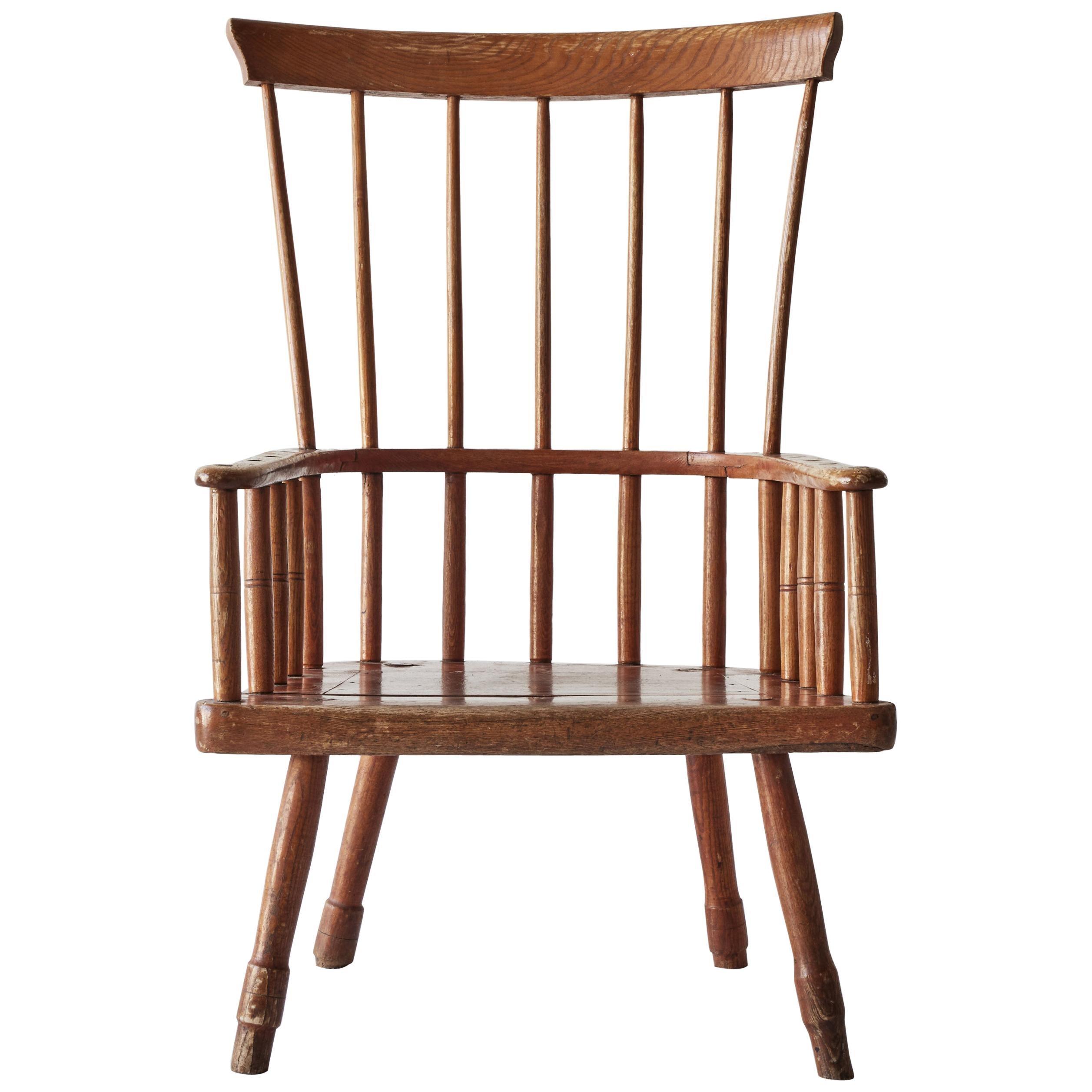 American Fan-Back Windsor Chair
