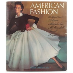 American Fashion Book Featuring Adrian, Mainbocher, McCardell, Norell, Trigere