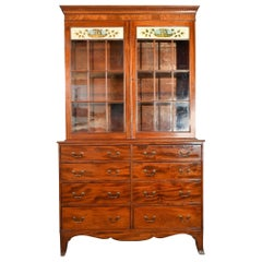 American Federal Period China Cabinet